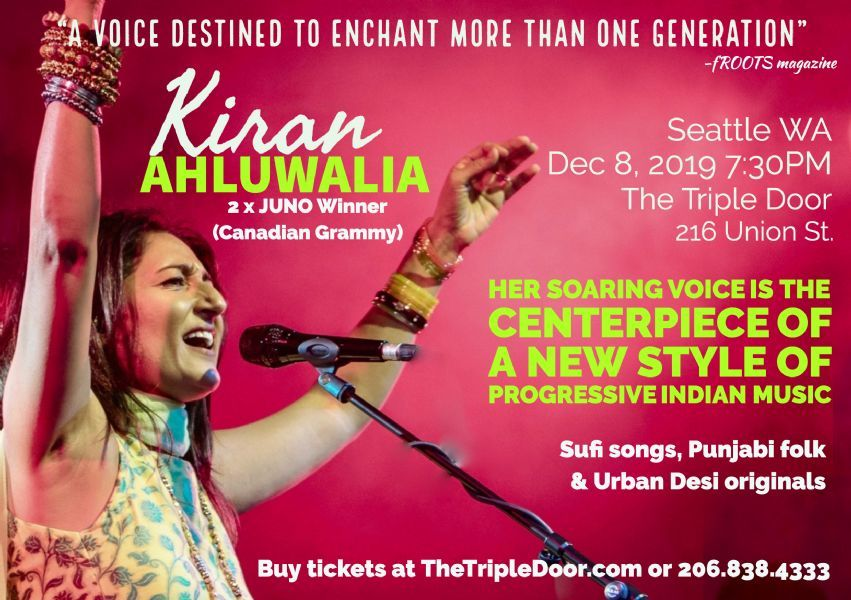 Kiran Ahluwalia - Modern Indian Fusion with her remarkable band