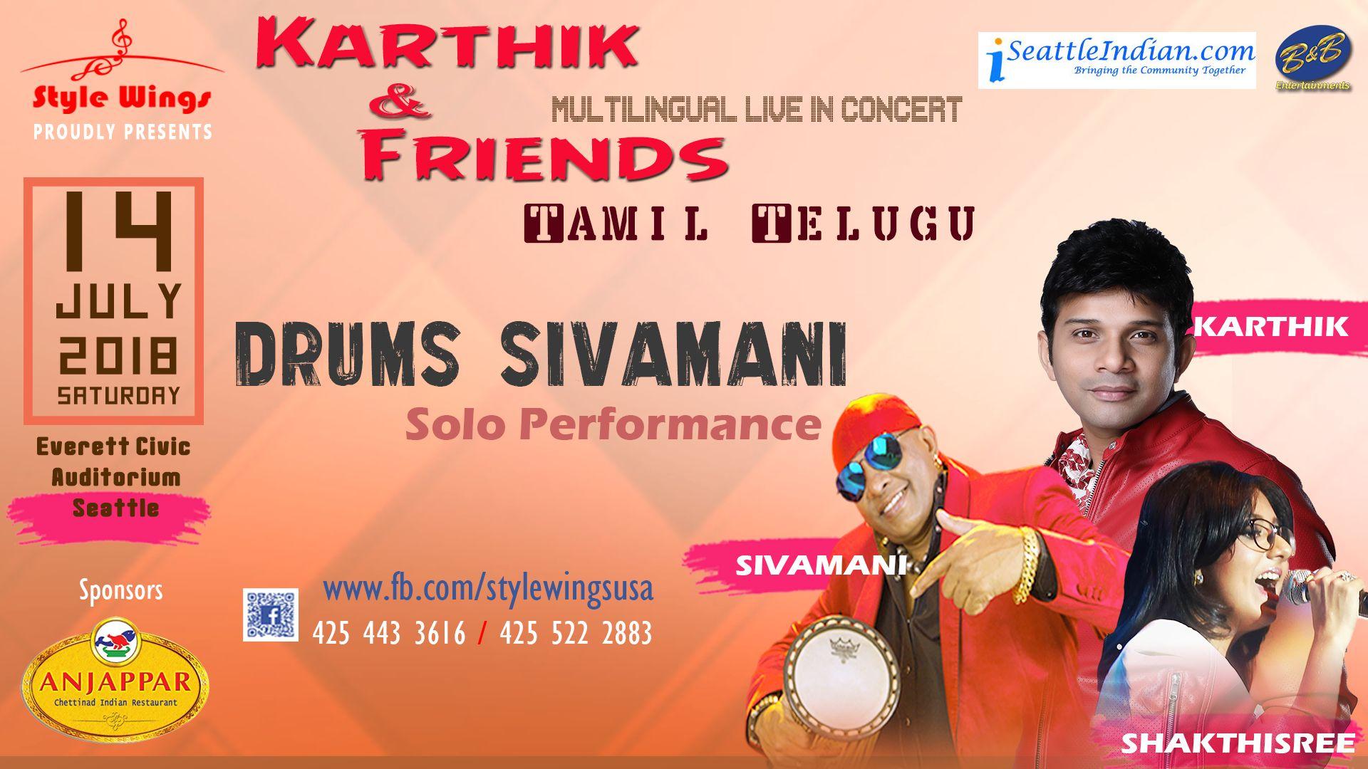 Karthik and Friends Live Concert